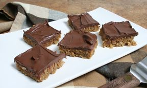 peanut butter oatmeal bars Recipe