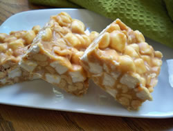 Peanut Butter and Marshmallow Bars