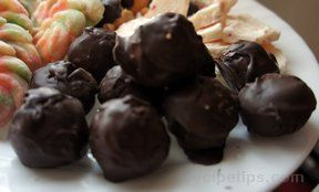 moms peanut butter balls Recipe