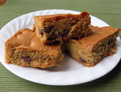 Peanut Butter  Chocolate Chip Bars Recipe