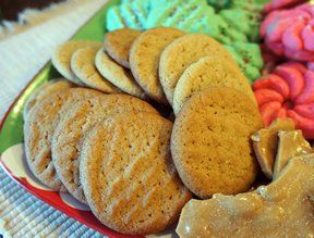 crisp peanut butter cookies Recipe