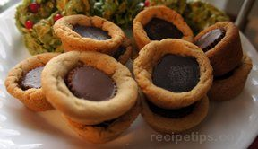 soft peanut butter cup cookies Recipe
