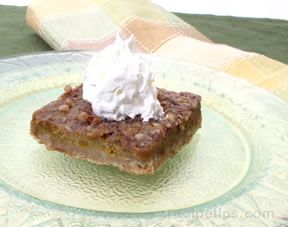 pumpkin pecan bar Recipe