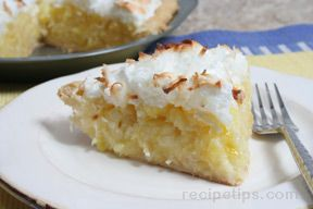 Pina Colada Pie Recipe