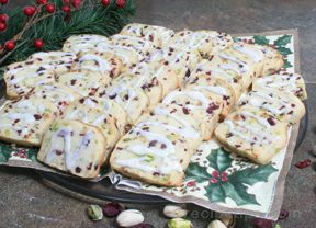 Pistachio Cranberry Cookies Recipe