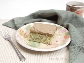 Maple Frosted Poppyseed Cake Recipe