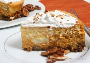 Pumpkin Pecan Cheesecake Recipe
