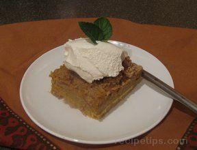 Layered Pumpkin Cake