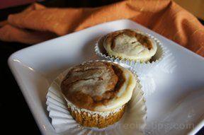 Pumpkin Cream Cupcakes Recipe