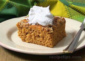 Pumpkin Cake Dessert