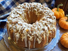 Pumpkin Latte Bundt Cake