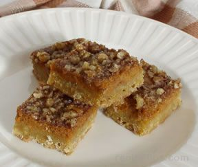 Pumpkin Nut Bars Recipe