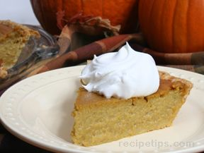 Pumpkin Pie Recipe - Traditional