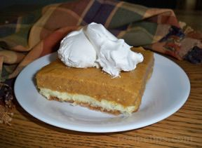 layered pumpkin torte Recipe