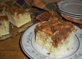 Quick Coffee Cake 6