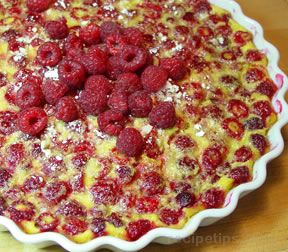 Raspberry Clafouti Recipe