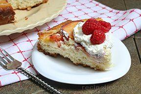 Raspberry Nectarine Cake