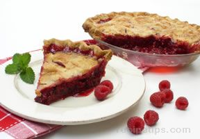 Fresh Raspberry Pie Recipe