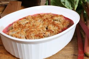 Rhubarb Brown Betty Recipe