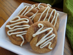 Rolled Cinnamon Cookies