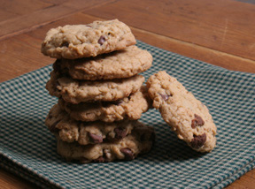 soft oatmeal chocolate chip cookies Recipe