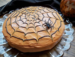 spider web cake Recipe