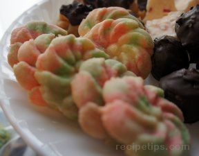 Easy Spritz Cookies Recipe