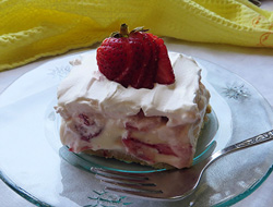 strawberry cream cheese dessert Recipe