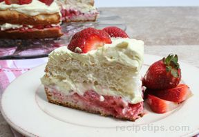 Strawberry Lemon Shortcake