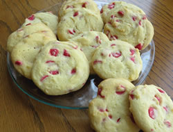 sweet-n-simple cherry chip cookies Recipe