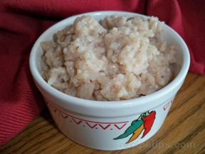 Sweet Rice Mexican Dish