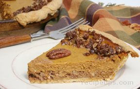 Toffee Pecan Pumpkin Pie Recipe