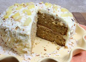 Tropical Carrot Cake Recipe