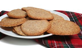 Spiced Almond Tuiles