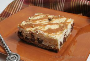 Turtle Cheesecake Bars Recipe