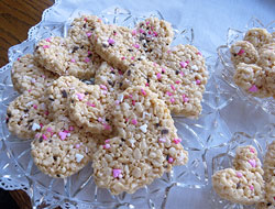 Valentines Day Krispie Treats