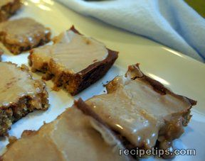warm beach peanut butter bars Recipe
