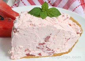 Watermelon Pie Recipe