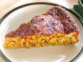 Wheatless Carrot Cake Recipe