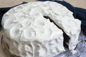 white and fluffy boiled frosting Recipe