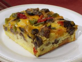 strata with italian sausage Recipe