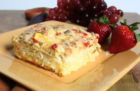 light egg and hashbrown bake Recipe