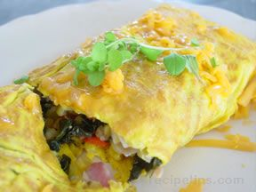the everything omelette Recipe