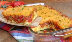 Huevos Rancheros Egg Bake Recipe