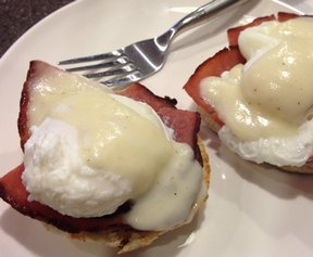 Light Eggs Benedict Recipe