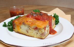 Overnight Egg Bake Recipe