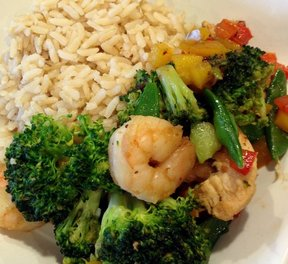 Chicken and Shrimp Stir Fry