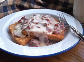 Creamed Chipped Beef on Toast Recipe