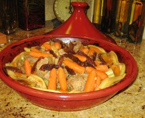 Beef or Lamb Tagine Recipe