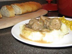 Meatballs amp Gravy Recipe